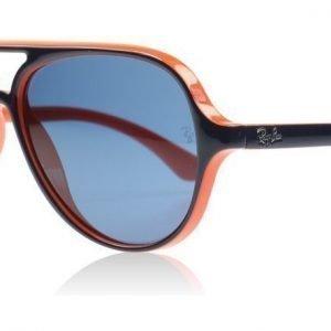 Ray-Ban Junior 9049 9049s 178/7B Sininen-oranssi Aurinkolasit