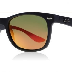 Ray-Ban Junior 9052s 100S/6Q Matta musta Aurinkolasit