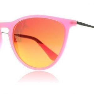 Ray-Ban Junior 9060S Izzy 9060S 70096Q Pinkki Läpikuultava Kumi Aurinkolasit