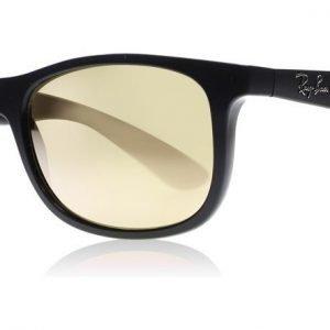 Ray-Ban Junior 9062S 70132Y Matta musta-musta Aurinkolasit