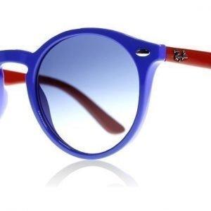 Ray-Ban Junior 9064S 7020/4L Sininen-punainen Aurinkolasit