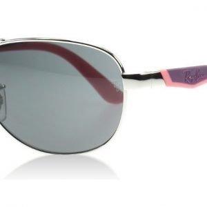 Ray-Ban Junior 9534S 212/87 Asemetalli pinkki ja violetti Aurinkolasit