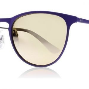 Ray-Ban Junior 9538S 252/2Y Matta ruskea-violetti Aurinkolasit