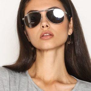 River Island Aviator Sunglasses Aurinkolasit Hopea