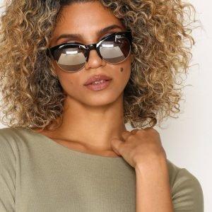 River Island Rose Gold Lens Sunglasses Aurinkolasit Black