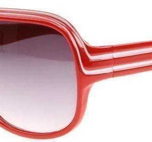 SXUC A List 958 Punainen Valkoinen Raita Aurinkolasit