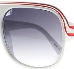 SXUC Thick Rim 958 Valkoinen Aurinkolasit