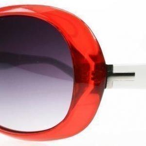 SXUC Vintage L22608 Punavalkoinen Aurinkolasit