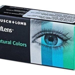 SofLens Natural Colors power 2kpl Värilliset piilolinssit