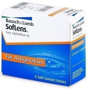 SofLens Toric 6kpl Tooriset piilolinssit