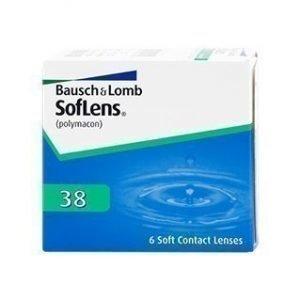 Soflens 38 6/pkt Piilolinssit