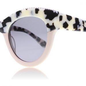 Stella McCartney 0018S 3 Valkoinen havanna-pinkki Aurinkolasit