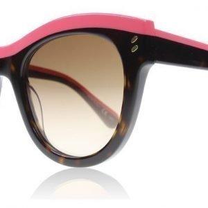 Stella McCartney 0021S 3 Pinkki-havanna Aurinkolasit