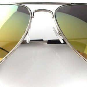 Suntique Pilot Green Mirror Medium aurinkolasit