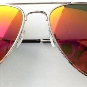 Suntique Pilot guld Mirror Medium aurinkolasit