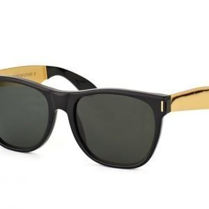 Super by Retrosuperfuture Classic Francis Black Gold 202 Aurinkolasit