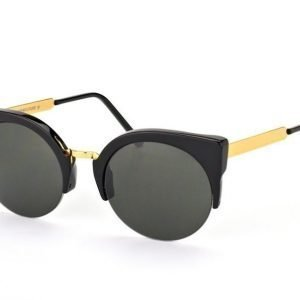 Super by Retrosuperfuture Lucia Francis Black Gold 340/R Aurinkolasit