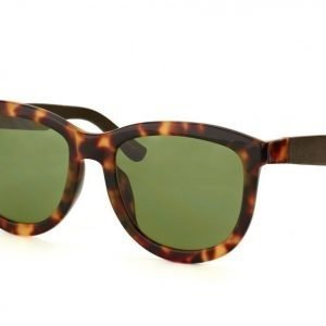 The Row RO 74 3 Tortoise Shell Walnut leather aurinkolasit