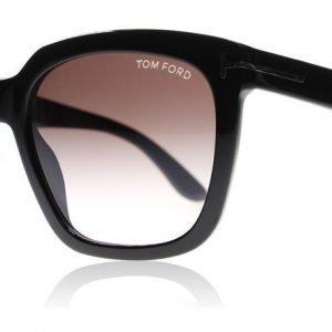 Tom Ford Amarra 0502 01T Kiiltävä musta Aurinkolasit