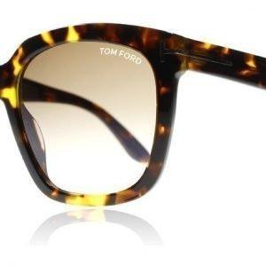 Tom Ford Amarra 0502 52F Tumma havanna Aurinkolasit