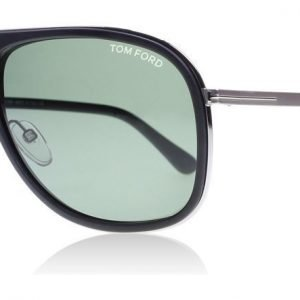 Tom Ford Chris 02N Matta musta Aurinkolasit