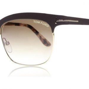 Tom Ford Elena 48F Ruskea Aurinkolasit