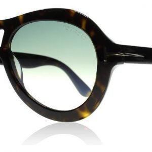 Tom Ford Isla 0514 52W Tumma havanna Aurinkolasit