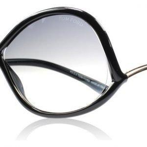 Tom Ford Ivanna 0372s 01B Musta Aurinkolasit