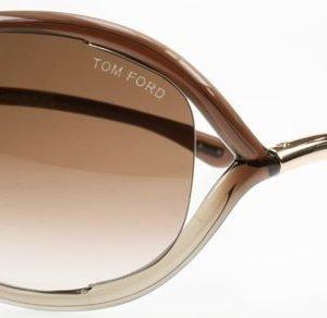 Tom Ford Jennifer 0008 38F Ruskea Liukuvärjätty Aurinkolasit