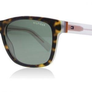 Tommy Hilfiger 1360S K55 Havanna-kristalli Aurinkolasit