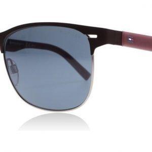 Tommy Hilfiger 1401/S R56 Matta ruskea-viininpunainen Aurinkolasit