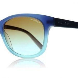 Tommy Hilfiger Junior 1073S 5RD Sininen Liukuvärjätty Aurinkolasit