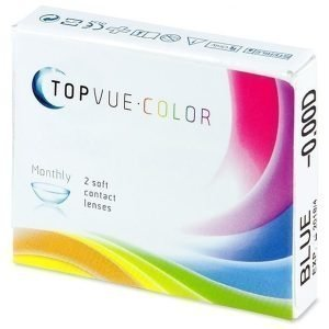 TopVue Color Plano 2kpl Värilliset piilolinssit