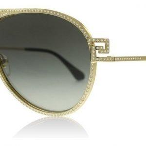 Versace 2171B 100211 Kulta Aurinkolasit