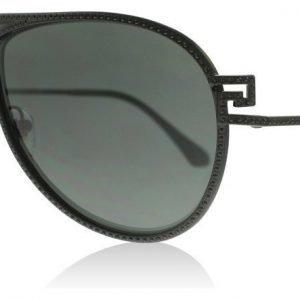 Versace 2171B 125687 Matta musta Aurinkolasit