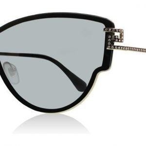 Versace 2172B 1252-6G Musta Aurinkolasit