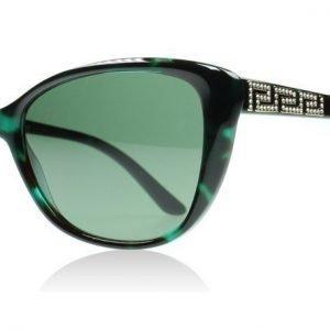 Versace 4264B 4264 507671 VIhreä Havana Aurinkolasit