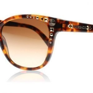 Versace 4270 Studs Ladies 4270 507413 Havana Aurinkolasit