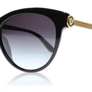 Versace 4292 GB1/8G Musta Aurinkolasit