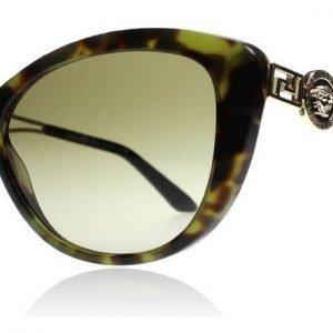 Versace 4295 5183-13 Vihreä kilpikonna Aurinkolasit