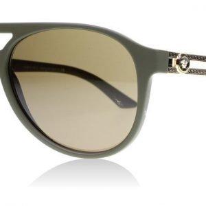 Versace 4312 517573 Matta tummanvihreä Aurinkolasit