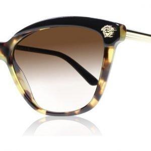 Versace 4313 5177/13 Havanna-musta Aurinkolasit