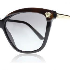 Versace 4313 5180/11 Musta-ruskea Aurinkolasit