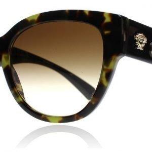 Versace 4314 5183-13 Vihreä kilpikonna Aurinkolasit