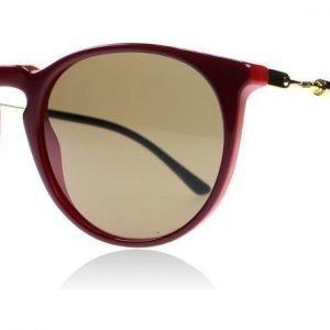 Versace 4315 518873 Tumman punainen-kulta Aurinkolasit