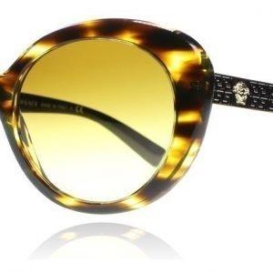 Versace 4318 52022L Kilpikonna-musta-kulta Aurinkolasit