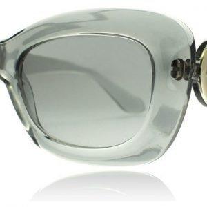 Versace 4328 52066V Läpikuultava harmaa Aurinkolasit