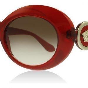 Versace 4329 193/13 Läpikuultava punainen Aurinkolasit