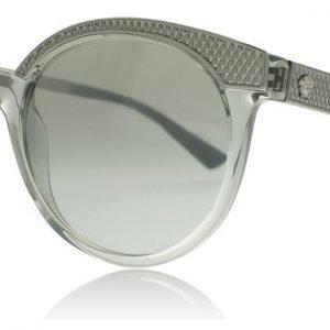 Versace 4330 52066V Läpikuultava harmaa Aurinkolasit