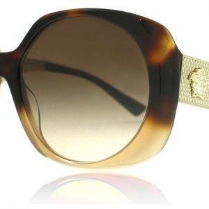 Versace 4331 520513 Havanna-vaaleanruskea Aurinkolasit